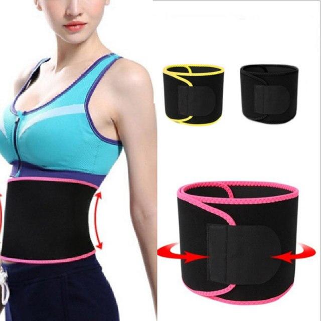 S-2XL Shaper Waist Trainer Trimmer Latex Rubber Belt Body Shaper Neoprene Waist Belt Sweat Premium Waist Cincher Fajas