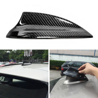 Black Car Shark Fin Antenna Cover Aerial Decoration Replace For BMW F30 F22 F32 2013 2018 Antenna Cover