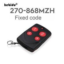 Kebidu متعدد التردد نسخة RF 270 868 ميجا هرتز رمز لباب المرآب ناسخ ريموت كنترول ثابت رمز تحكم عن بعد