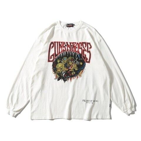 UNCLEDONJM 2019 Streetwear Women T Shirt Long Sleeve Harajuku Tshirt Hip Hop Print T-shirts Autumn Causal Tops Tees Tops 571W Islamabad