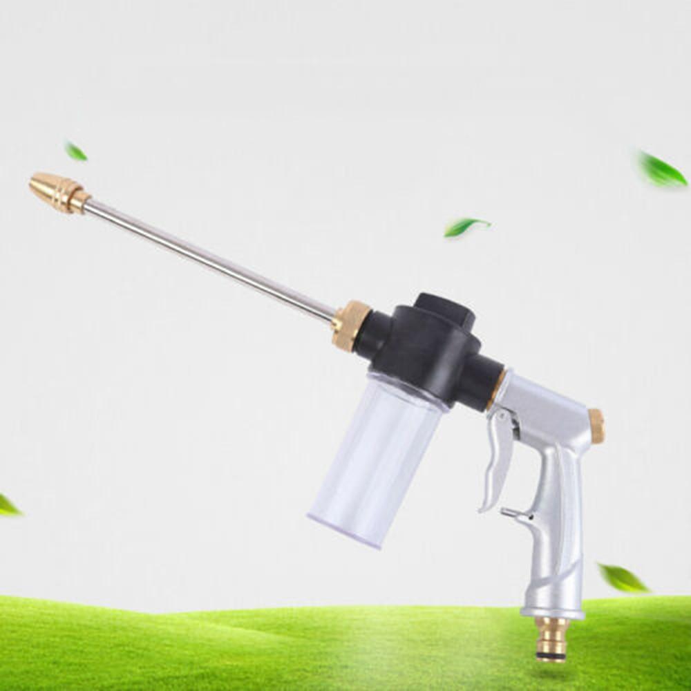 Floor High Pressure Washer Set Soap Foamer Connector Spray Power Wash Water Gun Durable And Practical