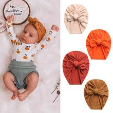 Solid Baby Cotton Beanies Cute Bear Ear Bowknot Turban Hats Sweet Soft 0-4T Elastic Caps for Newborn Baby Boy Girls Headwraps cheap CN(Origin) Maternity 0-6m 7-12m 13-24m 25-36m Fitted Unisex 0-3 months 4-6 months 7-9 months 10-12 months 13-18 months 19-24 months