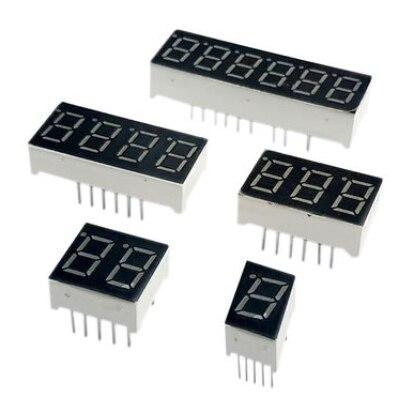 0.56 インチ led ディスプレイ 7 セグメント 1 ビット/2 ビット/3 ビット/4 ビット桁チューブ赤共通カソード/アノードデジタル 0.56 インチ led 7 セグメント