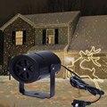 1 шт. наружный Рождественский подвижный сверкающий светодиодный садовый Рождественский лазерный светильник-проектор США/ЕС Рождественски...