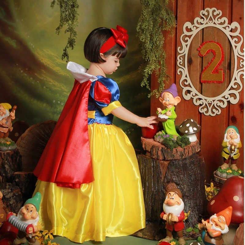 2020 çocuk kız kar beyaz elbise kız balo prenses elbise çocuklar bebek hediyeleri anlık parti giysileri fantezi genç giyim