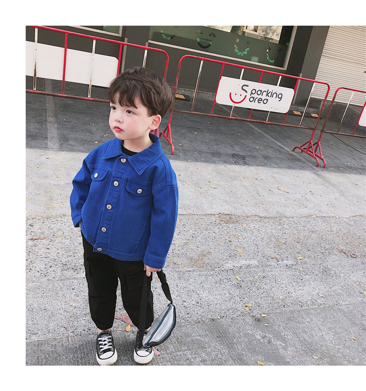 H80bdb2cd7b0f4c76826d5b42e66f3036f - Brand New Baby Girls Boys Candy Color Denim Jacket Kids Cotton Casual Jeans Jackets Children Clothes 1-10age
