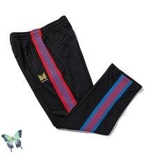AWGE – pantalon de survêtement pour homme et femme, vêtement de haute qualité, décontracté, avec poches et fermeture éclair, en tricot papillon, à la mode
