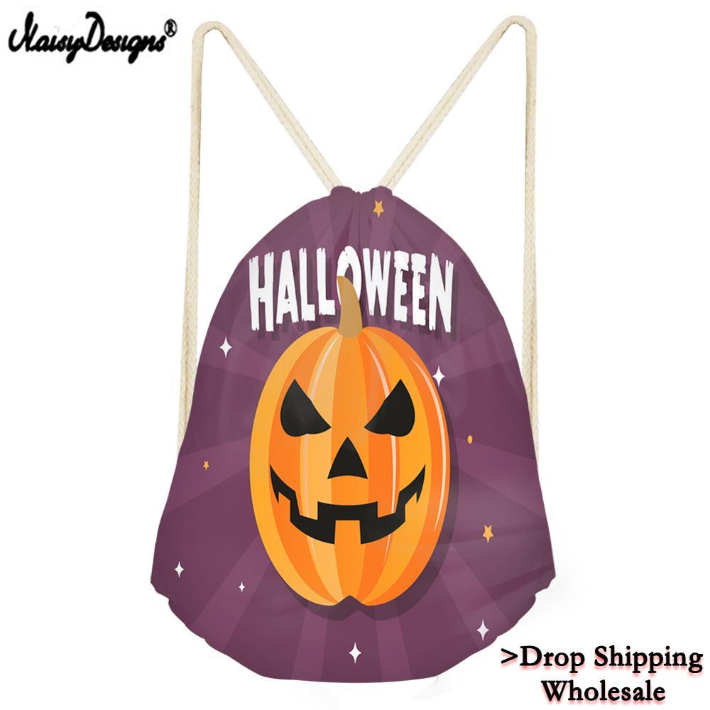 2019 Men Women Funny Halloween Print Drawstring Bag Casual Backpack Fashion Storage Bags Stylish For Teenagers Boys Girls Travel