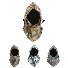 цена на Camouflage Windproof Warm Winter Sports Ski Cycling Fleece Balaclava Hat Cap Neck Hood Face Mask Winter Sports Face Mask