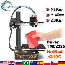KINGROON KP3S DIY Набор для 3D-принтера impressora 3D Модернизированный прямой экструдер TMC2225 драйвер двойной металлический направляющий рельс 180*180*180 мм