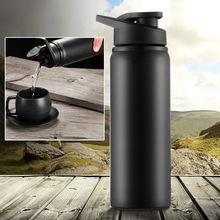 700ml Stainless Steel Water Bottle Leak Resistant Portable Kettle Cup for Travel bottle double