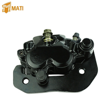 Mati Left Rear Brake Caliper Assembly for ATV Can Am Renegade Outlander 500 570 650 800 850 1000 with Pads Replacement 705600860