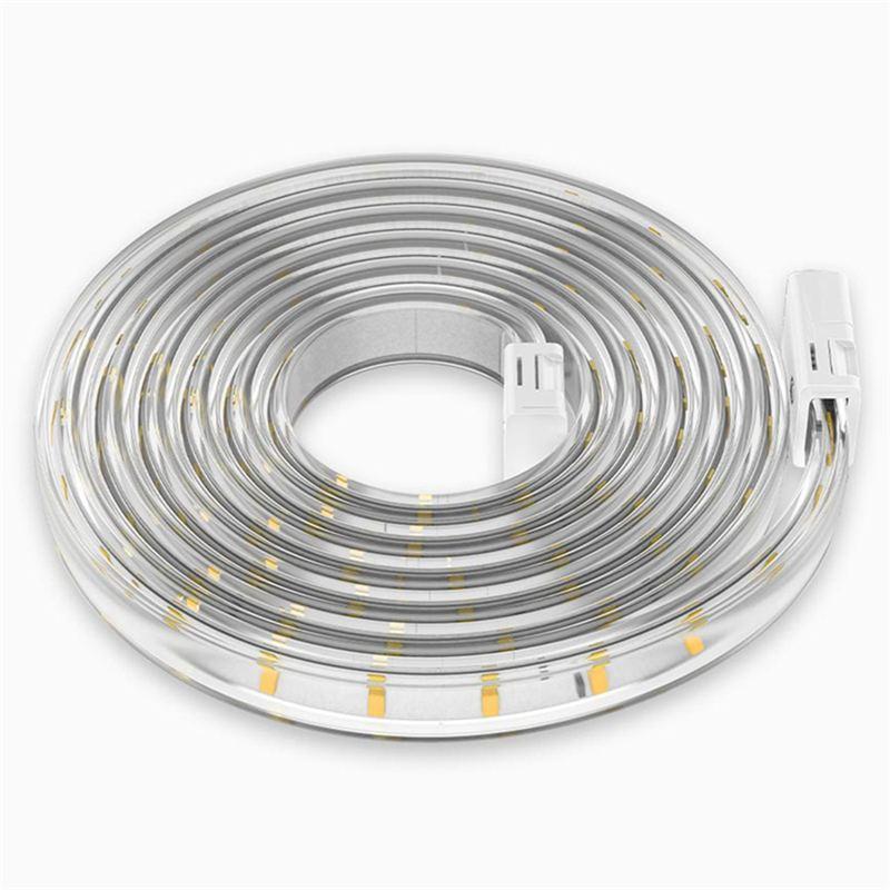 Yeelight AC220-240V 500LM/M Smart 5M LED bande de lumière pilote fonctionne avec Alexa HomeKit étanche IP65 pour Mijia APP gradation