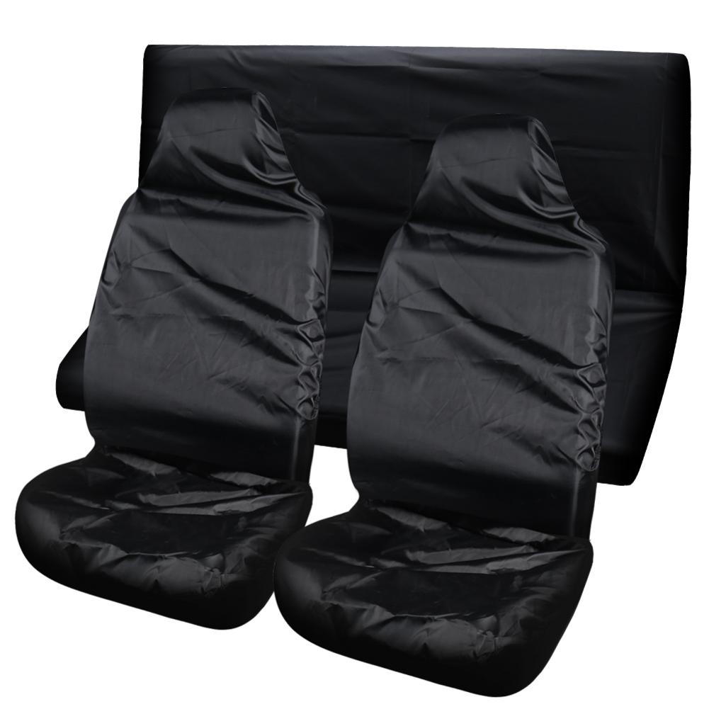 Universal Waterproof Car Seat Cover Oxford Rear Seat Cover High Seat Protector For Keeps Your Car Clean Fit Most Cars, Trucks