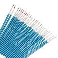 10 шт. качественная тонкая ручная роспись, тонкая ручка с крючком, ручка для рисования с синей дубинкой, ручка для рисования, краска, искусств...