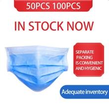 100 200pcs Disposable Medical font b Surgical b font font b Masks b font Anti pollution