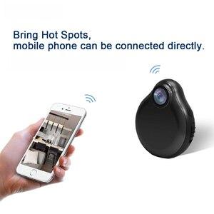 Image 2 - WiFi Mini caméra portable petite caméra complète 1080P infrarouge Version nocturne caméscope de sécurité caméscopes pour la sécurité à la maison intérieure