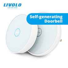 Livolo NEW smart ding dong wireless electronic touch doorbell, wifi doorbell, cordless  Doorbell,with Night Light