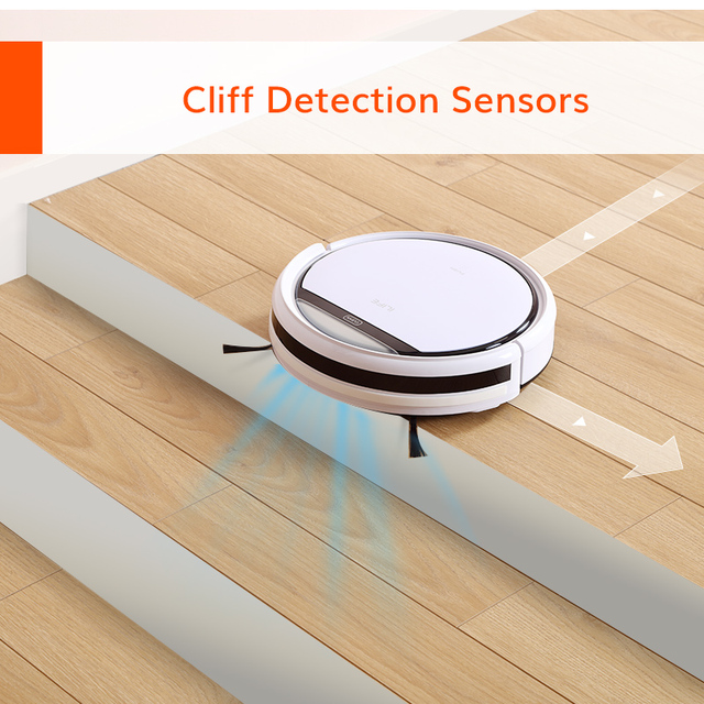 ILIFE V3s Pro Robot Vacuum Cleaner Household Sweeping Machine,Automatic Recharge,Cleaning Appliances,Electric Sweeper,electric 5
