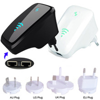 New 300M Wireless 802.11N Wifi Repeater Network Wlan Router AP WPS Adapter EU/US/AU/UK Plug