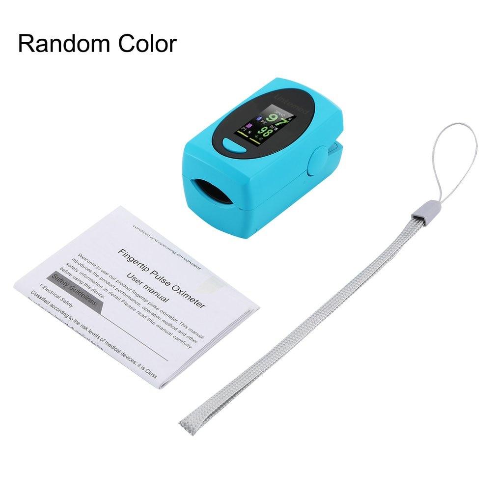 Finger Clip Oximeter Blood Oxygen Saturation Meter Fingertip Oximeter Spo2 Monitor Portable Finger Pulse Dropshipping