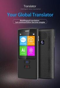 Image 2 - 1PCS Voice translator 68 Languages English Japanese Korean French Russian German Chinese Spanish translation Travel translator