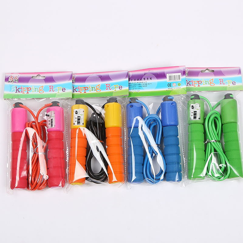 Sponge Handle Count Jump Rope Students The Academic Test For The Junior High School Students Sports Supplies Adult Men And Women