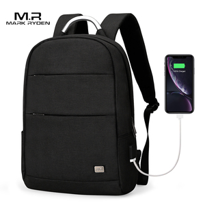 Image 1 - Mark Ryden New Arrivals Usb Recharging Anti thief Backpack Waterproof Two Size Fashion Portable Bag Male