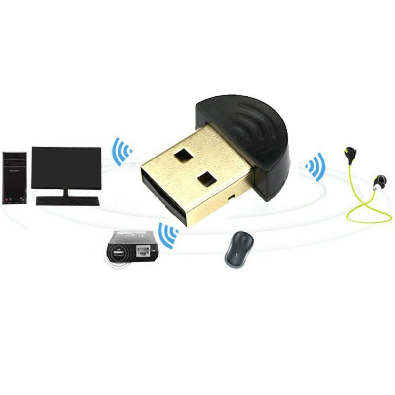 NEW Hot Mini USB 2.0 Bluetooth V2.0 EDR Dongle Wireless Adapter