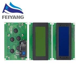 Image 1 - 10PCS LCD2004 + I2C 2004 20x4 2004A כחול/ירוק מסך HD44780 אופי LCD/w IIC/I2C סידורי ממשק מתאם מודול