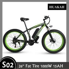 "Electrical bicycle 1000W Electrical Seaside Bike 26"" Fats Tire Electrical Bike 48V Males Mountain Bike Snow Ebike 26 inch Bicycle 2020 Sizzling"