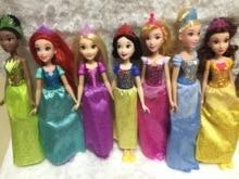 Rapunzel Jasmine Animators  Doll Sofia Snow White Ariel Merida Cinderella Aurora Belle dolls For girls toy 1 6 29cm rapunzel doll sofia snow white ariel merida cinderella aurora belle dolls for girls toy page 2