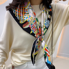 16mm Thicken 100% Twill Silk Scarf Wraps Shawl for Women Fas