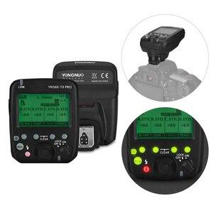 Image 3 - YONGNUO YN560 TX PRO 2.4G On camera Flash Trigger Wireless Transmitter for Canon DSLR Camera YN862/YN968/YN200/YN560 Speedlite