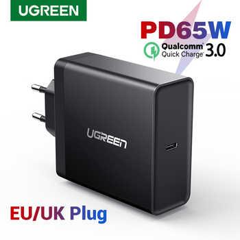 Chargeur Ugreen PD 65W chargeur USB type C pour Apple MacBook Air iPad Pro Samsung ASUS Acer chargeur de tablette pour Nintendo Switch