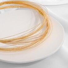 0.8 mm Copper Craft Wire Cyan 6 M suspendu Reel Accessoire Bijoux Making Crafts