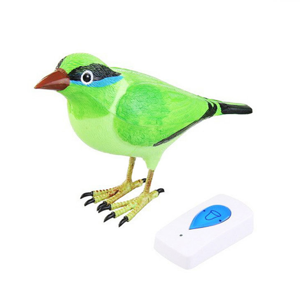 Unique Wireless Digital Bird Sound Home Remote Control Chime Doorbell Lovely