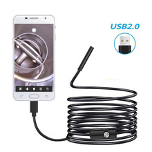 3.5M 5.5mm Industrial Pipe Endoscope For Android Mobile Phone USB Dual-Use Camera Camera Waterproof Endoscope Detection Camera
