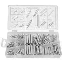 Compression Spring 200pcs/Set Extension Tension Assortment Metal Springs Kit Different Demands