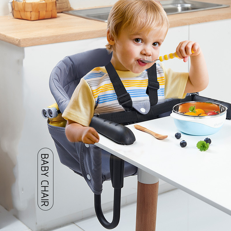 Portable Baby Feeding High Chair Foldable Travel Infant Table Chair Booster Seat Baby Dinning Chair