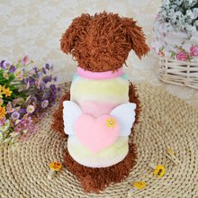 Classic Dog Coats Puppy Clothes Sweater shirts for Small Dog Vest Yorkie Clothes Warm Autumn Winter Pet Cat Clothing Colorful(China)