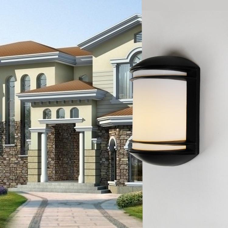Işıklar ve Aydınlatma'ten Dış Mekan Duvar Lambaları'de 5 adet led duvar Işık 10W AC220V 110V IP66 Sundurma Işık Modern Avlu Bahçe Dış Aydınlatma Buitenlamp title=