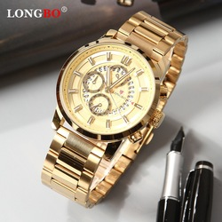 LONGBO 2020 Топ бренд мужские военные часы Роскошные Цифровые кварцевые мужские часы Бизнес наручные часы мужские Relogio Masculino