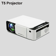 T5 Portable LED Projector 4K 2600 Lumens 1080P HD Video Projector USB HDMI Beamer For Home Cinema Optional Wifi Projector T6 цены