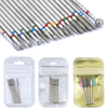 6/7 Diamond Nail Drill Bits Set Cutters Manicure Silicon Ceramic Stone Electric Milling Cutter for Pedicure Manicure Machine 1