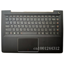 New Original for Lenovo Ideapad 500S-13ISK 300S-13ISK U31-70  palmrest upper case Cover with keyboard Touchpad NBX0001RC00