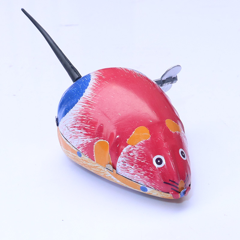 Algam Mouse Wind-up Toy Winding Children Small Toy 80 Nostalgic Winding Small Animal Stall Supply Of Goods