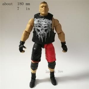Image 4 - WWEE American wrestle mania models action figures original factory toys odorless  Hulk Hogan Big E Roman reigns undertaker