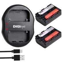 2 шт 1800 мА/ч np fm50 npfm50 батареи + dual usb Зарядное устройство