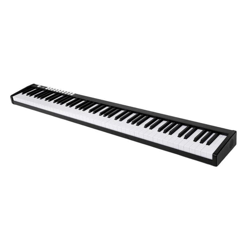 88 מפתח פסנתר נייד דיגיטלי אלקטרוני בקר פסנתר מקלדת מגע רגיש MIDI/USB חשמלי פסנתר עם לשאת תיק